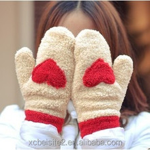 lovely warm autumn and winter cotton gloves