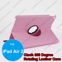 360 Degrees Rotating Stand Leather Smart Cover Case for iPad Air 2,Tablets PC Stand Case Cover with Auto Sleep / Wake Feature