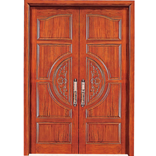 HS-YH8027 china factory aliababa design home directly sale front designs main melamine soild wooden door