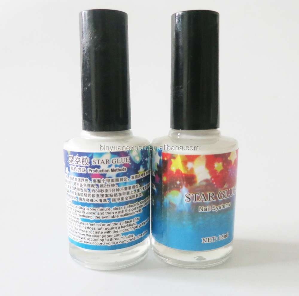BIN nail Art Transfer foil glue Star Glue