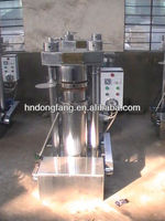 Automatic hydraulic oil press machine for sesame/almond/pine nut/walnut/cocoa beans