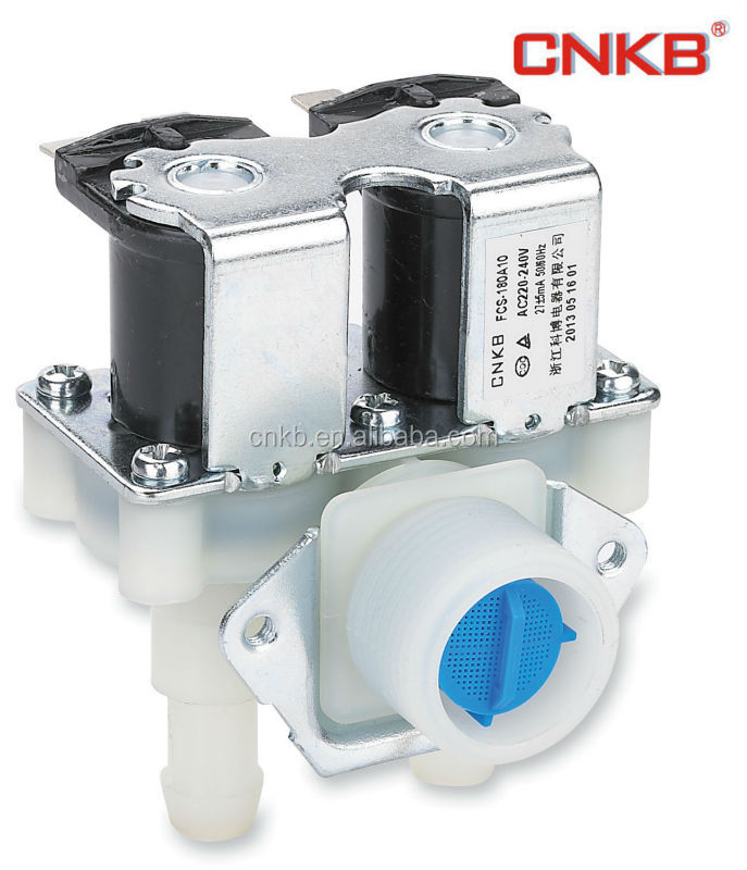 washing machine water inlet valve and solenoid control valve