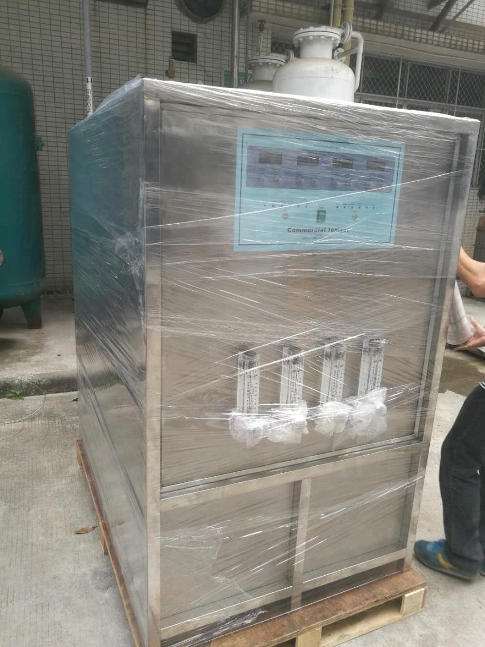 Commercial alkaline water ionizer filter machine
