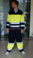 safety reflective rain suit