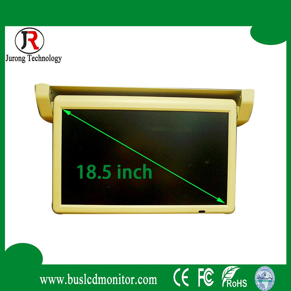 High-Definition DC 12V/24V car 18.5 inch 1080p lcd motorized monitor