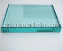 10mm 12mm 19mm thickness high quality clear float building glass