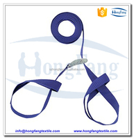 Heavy duty box carrying straps with metal buckle
