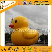 Cheap advertising inflatable yellow duck F1001