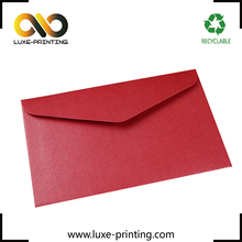 Custom wedding invitation card design chinese red pocket envelope
