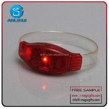 Top quality sound activated antique led bracelet for wholesale