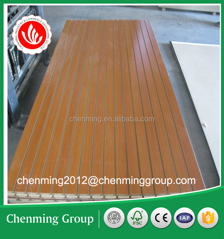 Good MDF slat wall board/slatwall/slotted board