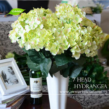 GNW FLH703 Artificial Hydrangea Flower with Vase for wedding stand centerpiece