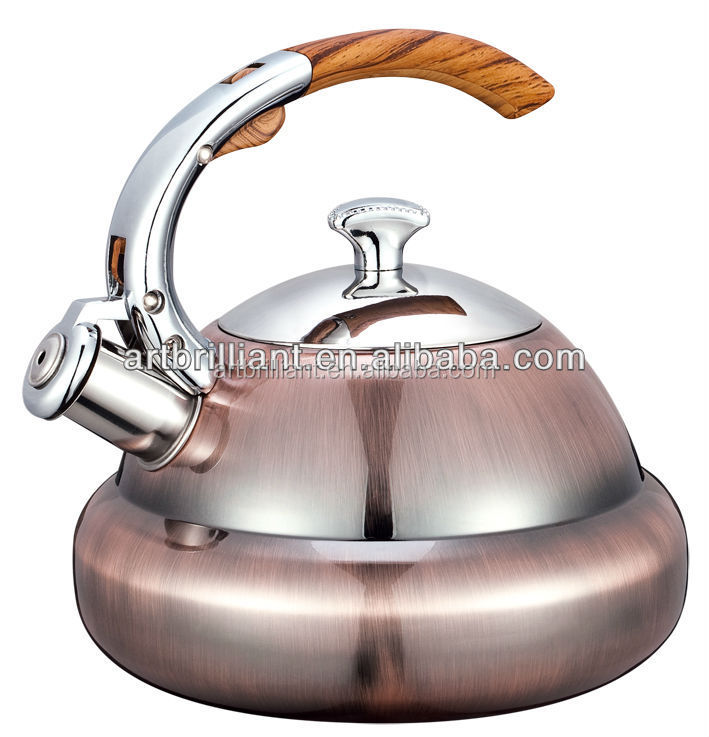 1.4 Litre Induction Buttom Safe Tea Coffee Whistling Stovetop Kettle