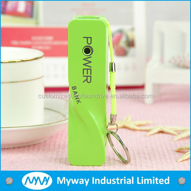 special gift colorful cell phone charger mobile smart power bank with perfume
