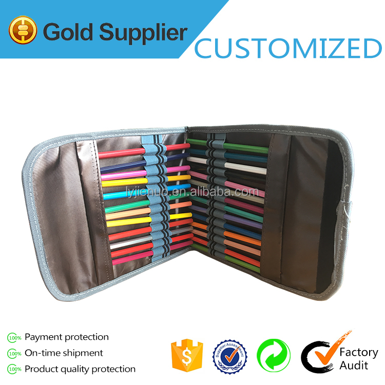 new design pencil organizer bag/multi stationery bag /gift pencil case