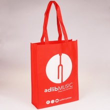 promotional custom image printed cheap non woven fabric gift shopping tote bag manufacturer