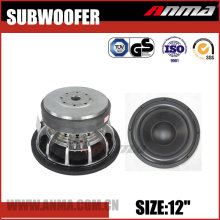 "12"" inch car subwoofer high quality competition 3000W car speakers subwoofer"