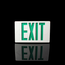 Thermoplastic ABS exit sign LED emergency exit lights emergency lamp