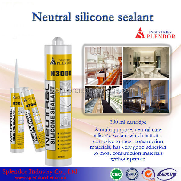 Neutral Silicone Sealant supplier/ silicone sealant for laminated wood/ silicone spray sealant