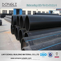 Factory price large diameter hdpe water plastic drain pipe