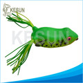 New design bass killer frog lures topwater handmade frog fishing lure 60mm-14g
