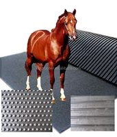 rubber horse stable wash area cow mat made in CHINA