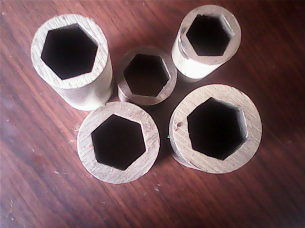 OEM hexagonal precision steel galvanized tube/seamless carbon steel pipe