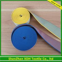 Eco-friendly woven polyester elastic webbing for waist band