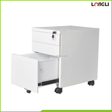 Office furniture stores files pencils stationery cabinet with movable wheels
