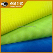 100 polyester mesh fabric waffle knit fabric for making clothes
