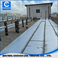 Rubber SBS modified bitumen waterproofing roofing rolling membrane for bridge