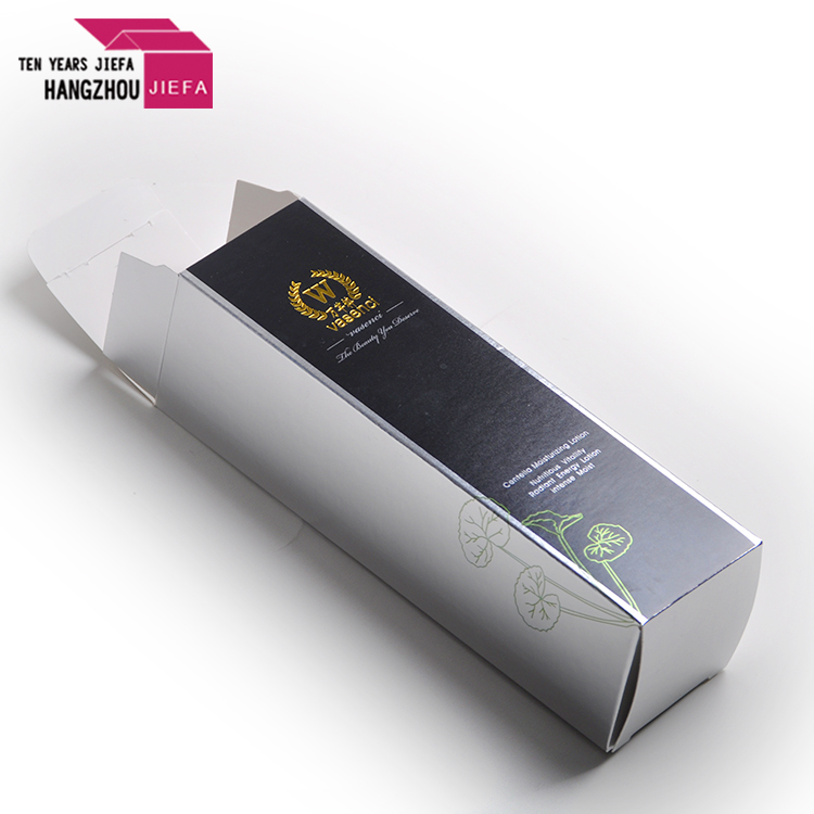 Cosmetic printing paper cardboard packaging box with high quality