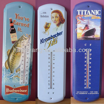 thermometer wall signs