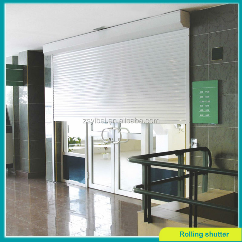 Modern electric aluminum german window roller shutter for Window in german