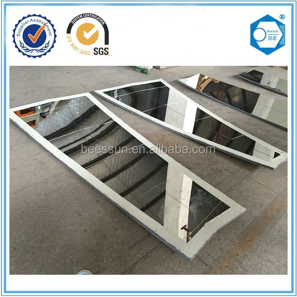 Suzhou Beecore photovoltaic solar panel made by aluminum honeycomb core and mirror