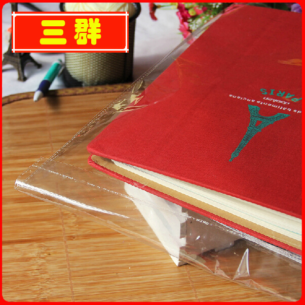 High Quality Crystal Clear Self Adhesive Bags Clear Plastic Bag for Notebook Packaging