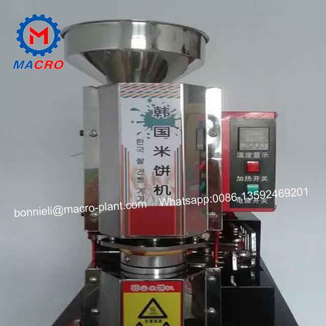 rice cracker machine/korea rice cake making machine