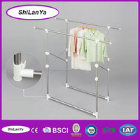 extendable steel clothes tree