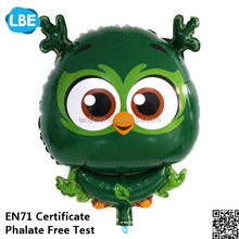 new design cartoon owl foil flying balloon toy for kids