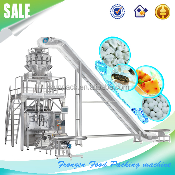 KDS-820 Automatic Frozen chicken / chicken wing Packing Machine