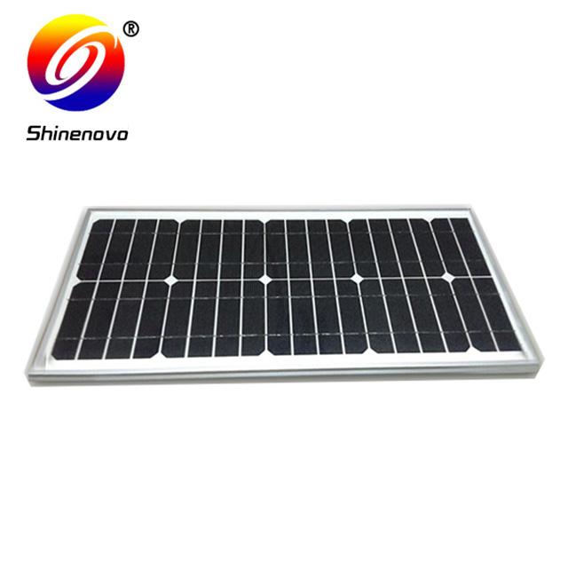 quality assurance sunpower solar panel 25w with attractive price