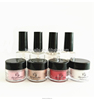 free samples resin nail glitter pure color acrylic dipping powder kits