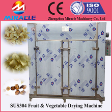 Stainless steel durable lemon slice/kiwi fruit drying machine equipped with utility cart for food drying industry