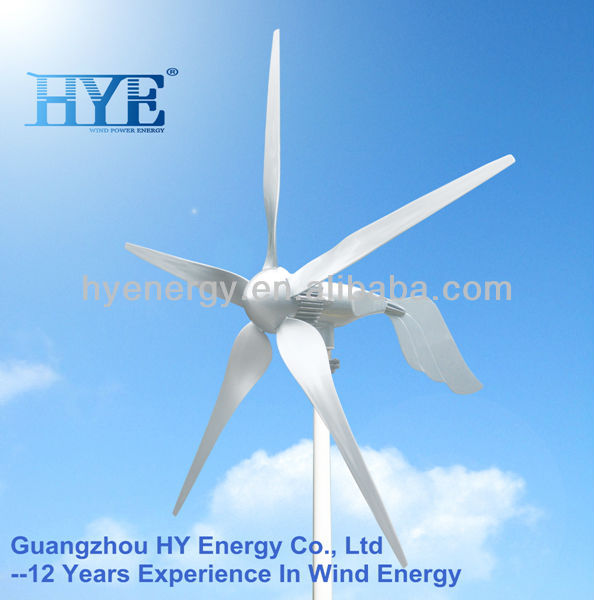1.5KW off-grid wind turbine generator system for home use