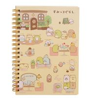Cartoon Coil Notebook Diary Agenda Pocket
