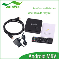 New Chiptrip MXV S805 Android Mini PC Multimedia Android TV Box Android 4.4 Amlgic S805 Quad Core 1G/8G WiFi NETFLIX, XBMC