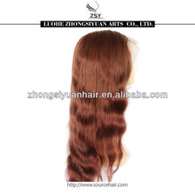 ZSY good quality factory low price full lace wig for white women