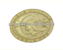 design custom metal coin euro