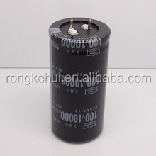 Aluminum Electrolytic Capacitor 10000UF 100V 105C High quality