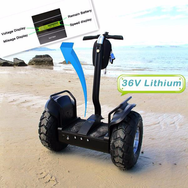 2015 OB-OR1(L3) New Self Balance Outdoor Sports Two Wheels Self Balance Scooter Off Road Motorcycle Load 125KG Electric Scooter